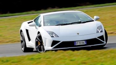 Lamborghini Gallardo LP560-4 front cornering