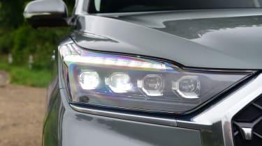 SsangYong Rexton 2021 facelift - light