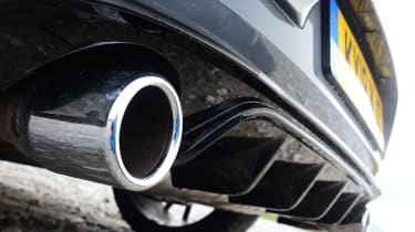 Volkswagen Golf GTI TCR - exhaust