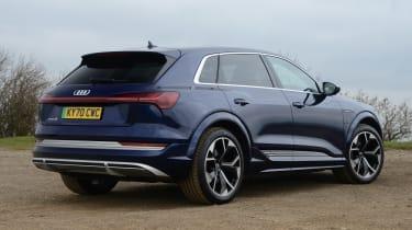 Audi e-tron S - rear static