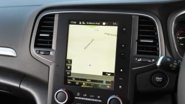 Renault Megane long term test - first report sat-nav