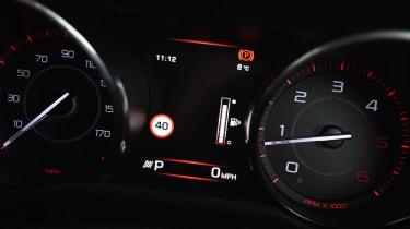 Jaguar XE Long term test - fuel gauge