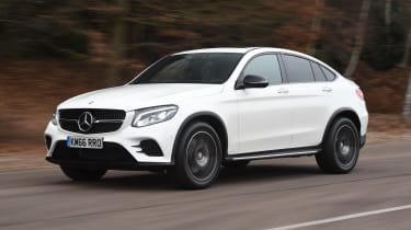 Mercedes GLC Coupe - front action