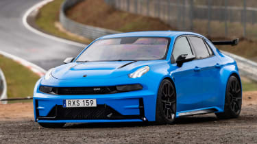 Lynk & Co 03 Cyan Concept - static front