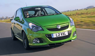 Vauxhall Corsa VXR Nurburgring Edition front tracking
