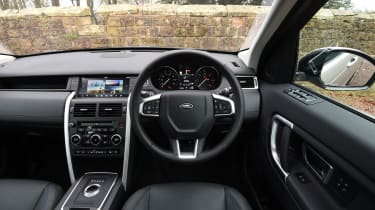 Land Rover Discovery Sport MY2107 - interior