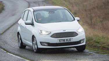 Ford C-MAX - front cornering