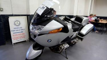 How to buy a used police car - BMW bike
