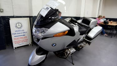 How to buy a used police car - BMW bike