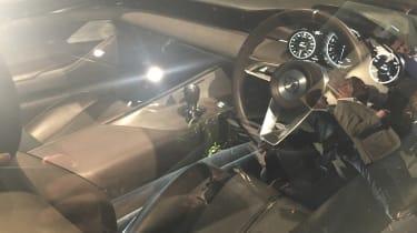 Mazda Vision Coupe concept - reveal interior