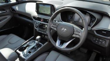Hyundai Santa Fe - steering wheel