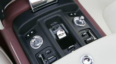 Rolls-Royce Phantom Drophead interior