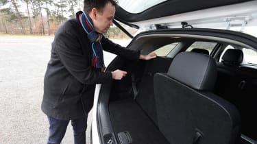 Kia Sorento Long-termer - rear seats