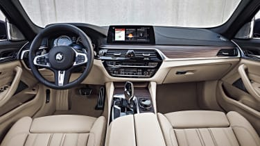 New BMW 5 Series Touring - full interior