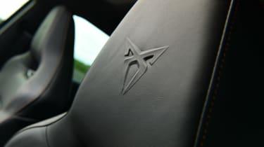 Cupra Leon - seat detail