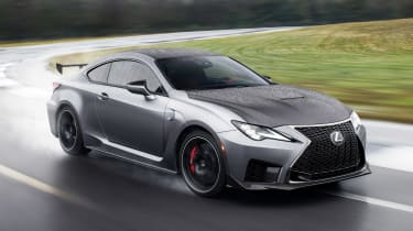 Lexus RC F Track Edition - front