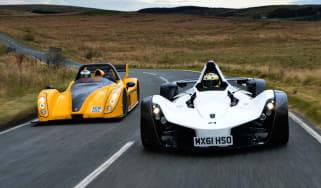 BAC Mono vs Radical SR3 SL front tracking