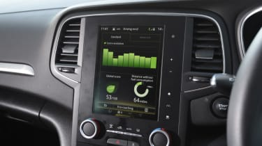 Renault Megane Sport Tourer - eco-driving