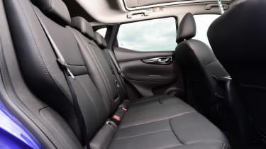 Nissan Qashqai interior rear