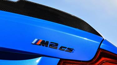BMW M2 CS - rear badge