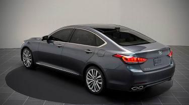 Hyundai Genesis 2014 static
