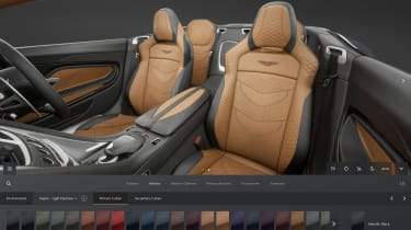 Aston Martin online configurator 7