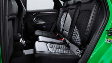 Audi RS Q3 Sportback - rear seats