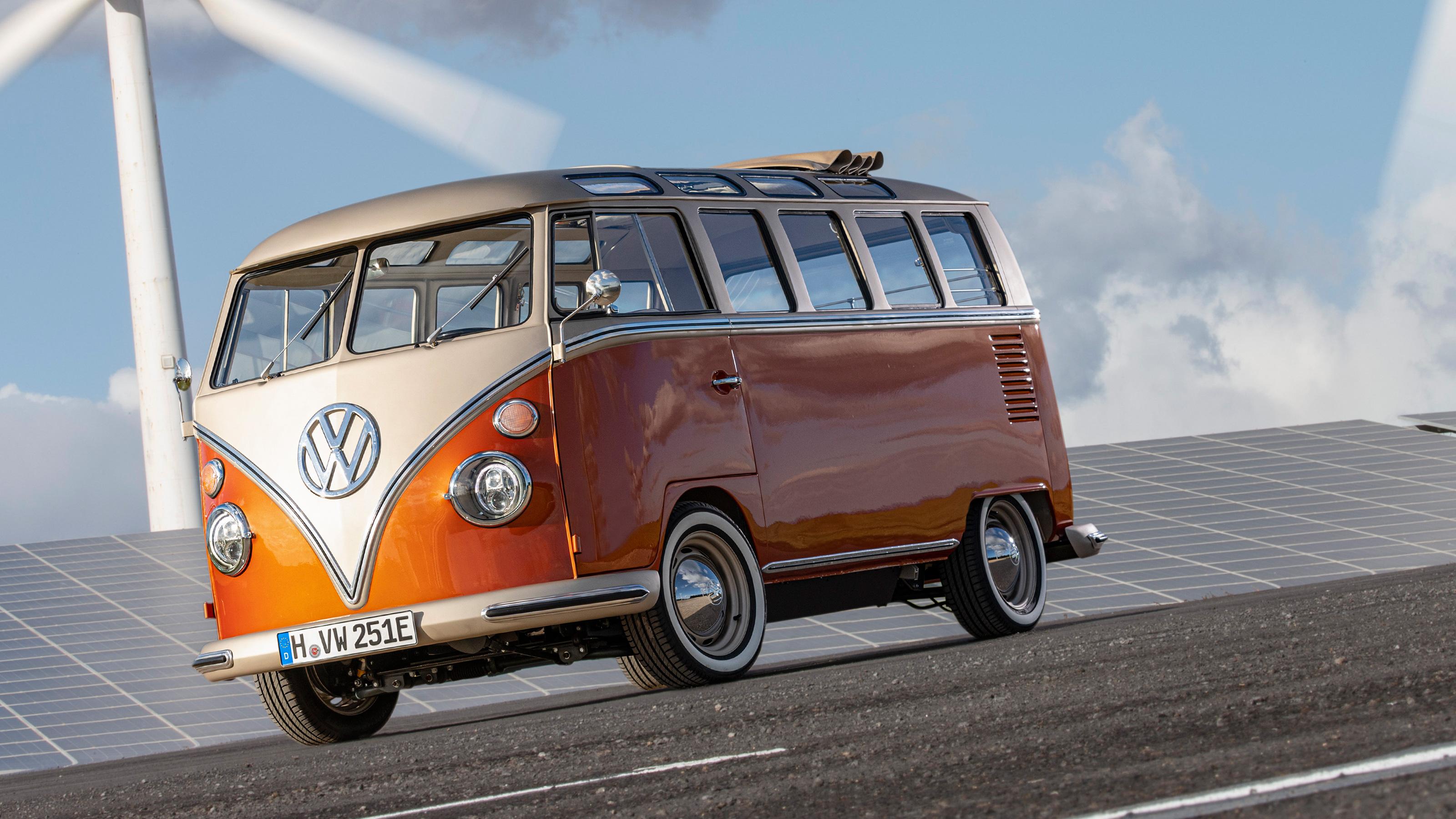 New Volkswagen E Bulli Electric Camper Van Revealed Auto Express