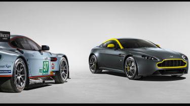 Aston Martin V8 Vantage N430 - race car