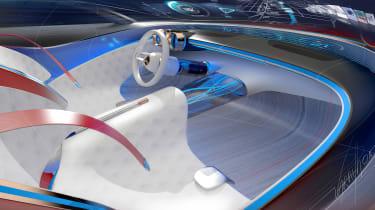 Mercedes-Maybach 6 concept coupe - dash