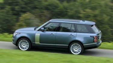 Range Rover SDV8 - side