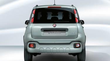 Fiat Panda hybrid - rear