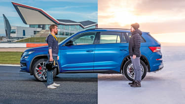 Skoda Kodiaq vRS - our highlights of 2019