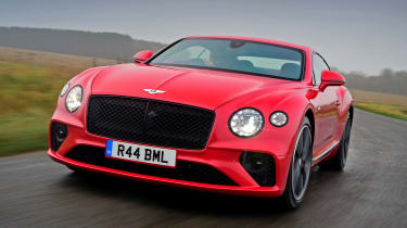 Bentley Continental GT V8 - front action