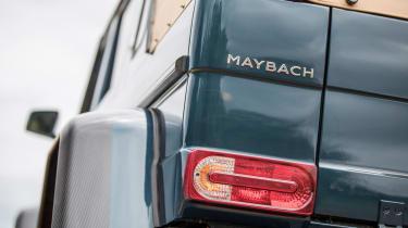 Mercedes-Maybach G 650 Landaulet - rear light detail