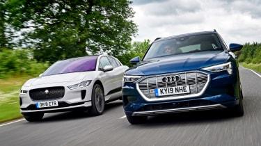 Audi e-tron vs Jaguar I-Pace - header