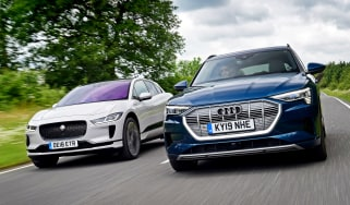 Audi e-tron vs Jaguar I-Pace - header