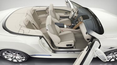 Bentley Continental GT Mulliner Galene Edition interior