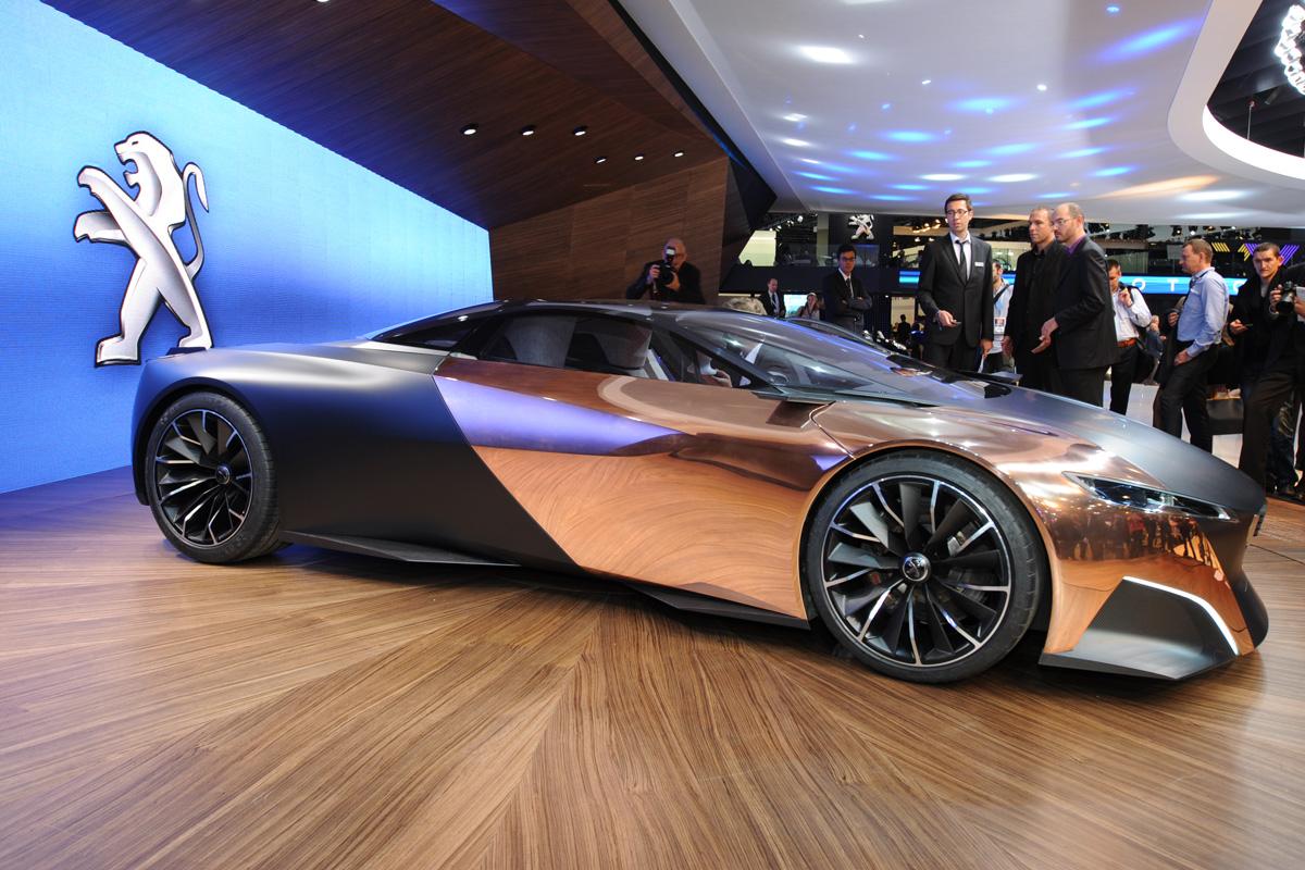 Peugeot Onyx Supercar Auto Express