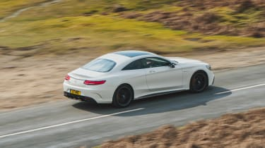 Mercedes-AMG S 63 Coupe - rear action