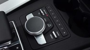 Audi S5 - MMI controls