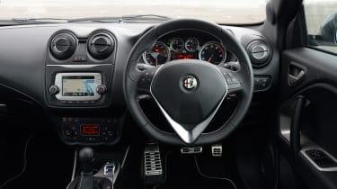 Alfa Romeo MiTo QV - cabin