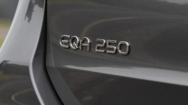 Mercedes EQA - badge