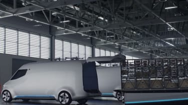 Mercedes Vision Van - video loading