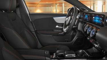 Mercedes A-Class Saloon - front seats