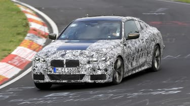 BMW 4 Series - spyshot 10