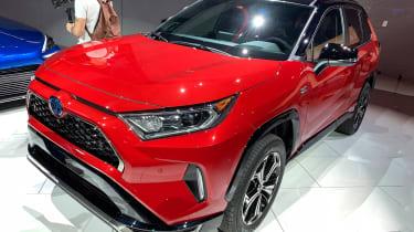 Toyota RAV4 Prime PHEV - Los Angeles front