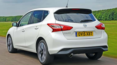 Used Nissan Pulsar - rear action