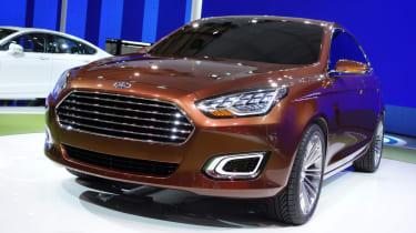 Ford Escort Concept revealed