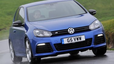 Best cheap hot hatches and performance cars - Volkswagen Golf R